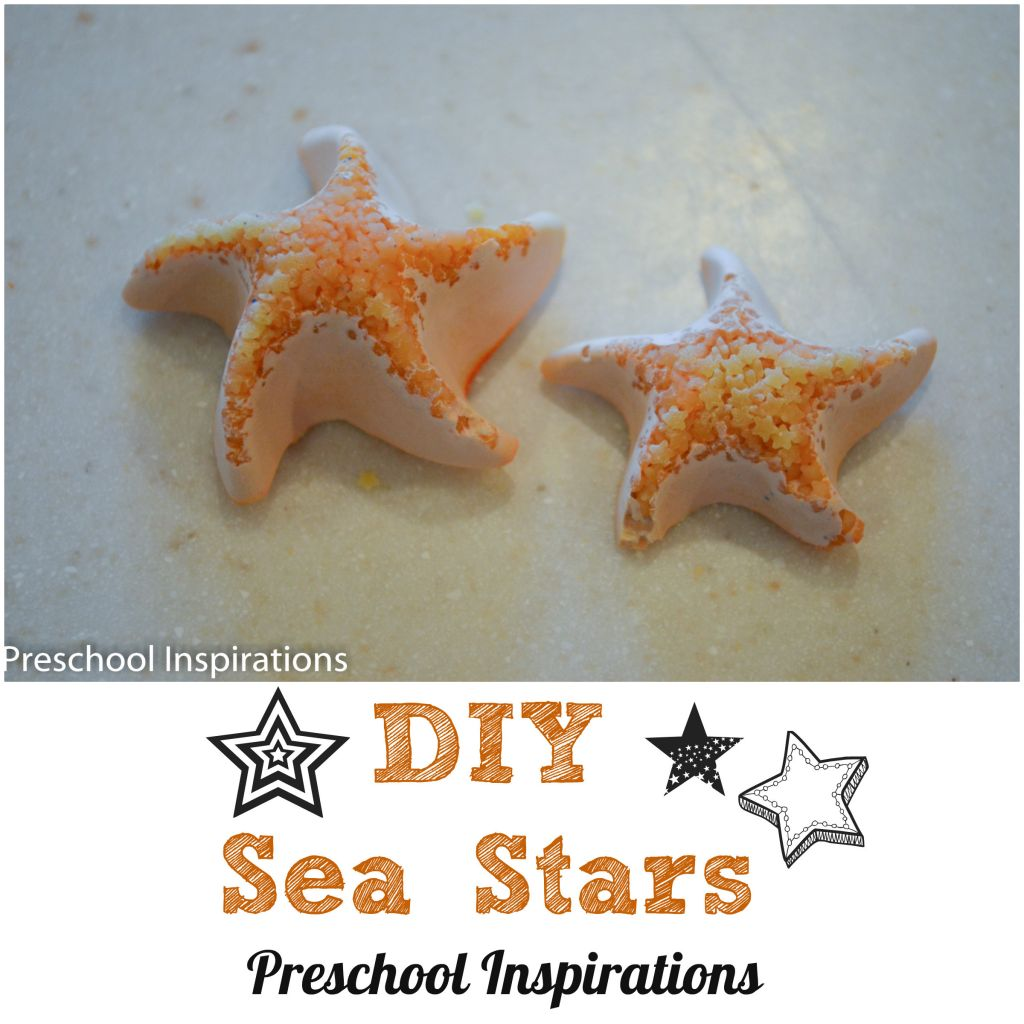 DIY Sea Stars by Preschool Inspirations