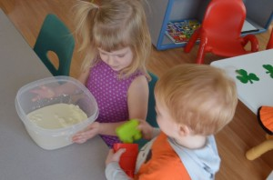 Sensory Play by Preschool Inspirations