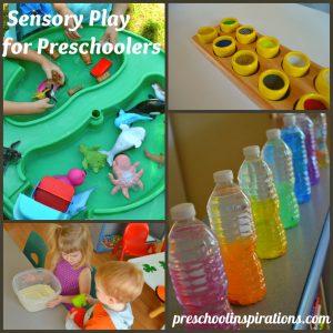 Sensory for Preschoolers