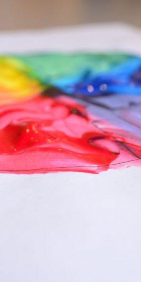 Color Mixing with Preschoolers