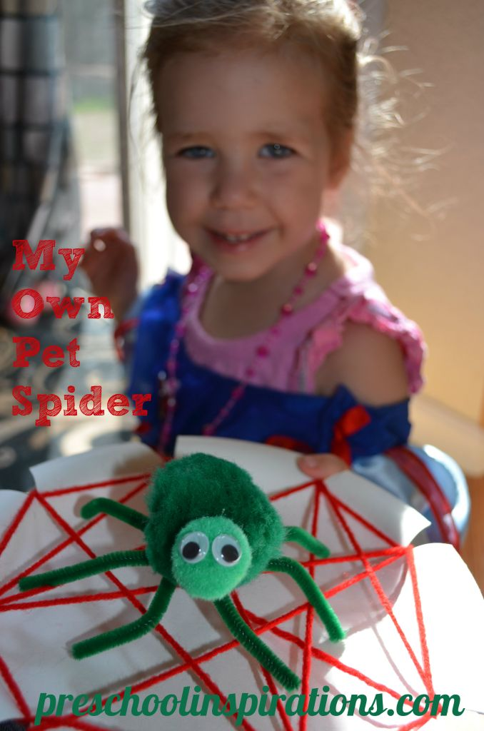 My Own Pet Spider by Preschool Inspirations