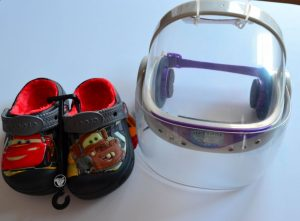 The Store in My Closet by Preschool Inspirations -- Buzz Lightyear helmet