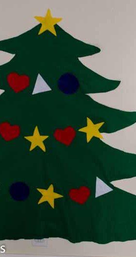 Felt Christmas Tree With a Twist