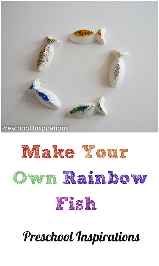 Make your own rainbow fish preschool inspirations for Create your own fish