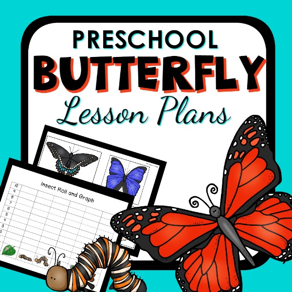 Butterfly preschool lesson plan