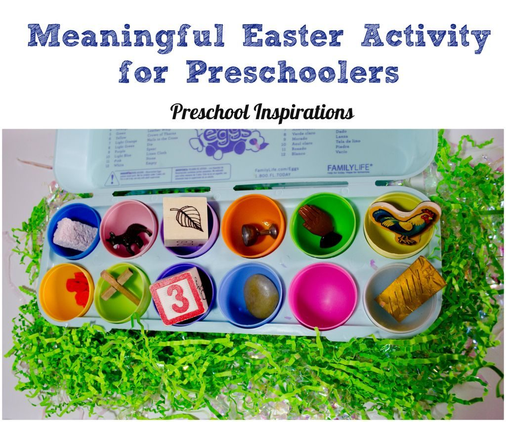 Meaningful Easter Activity for Preschoolers