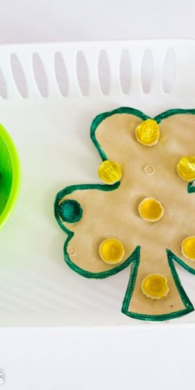 Montessori Shamrock Activity