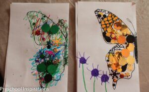 Preschool Inspirations- Butterfly Symmetry Activity-3