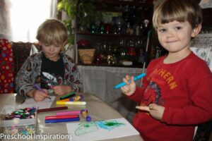 Preschool Inspirations- Butterfly Symmetry Activity