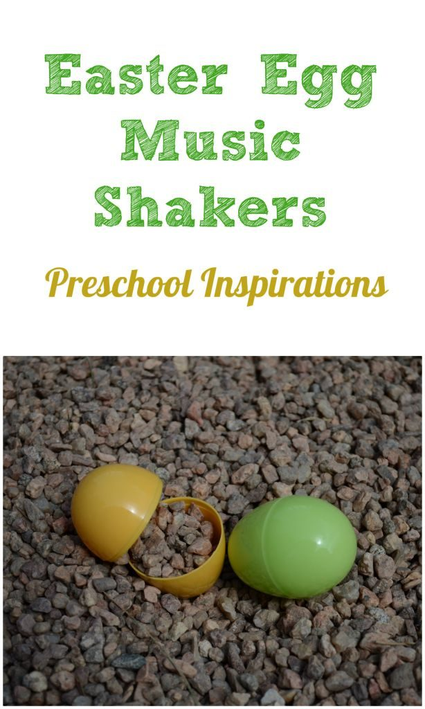 Easter Egg Music Shakers by Preschool Inspirations