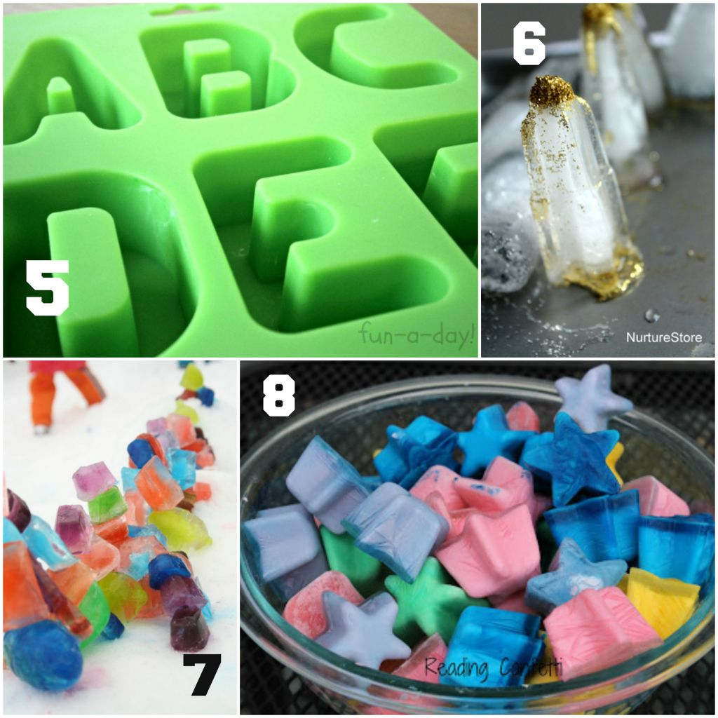 Ice Cube Ideas for Kids