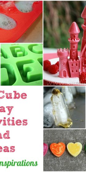 Ice Cube Mold Ideas and Activities for Kids