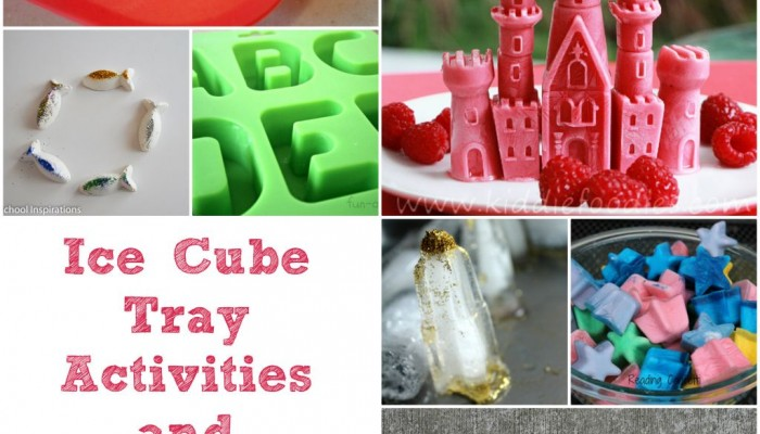 Ice Cube Tray Activities and Ideas by Preschool Inspirations