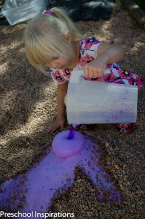 Easy Volcano Eruption for Kids ~ Preschool Inspirations-10