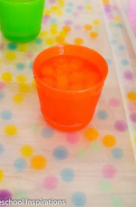 Water Bead Sorting