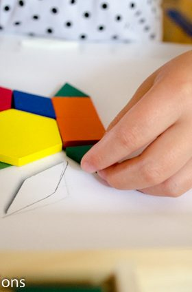 DIY Pattern Block Game