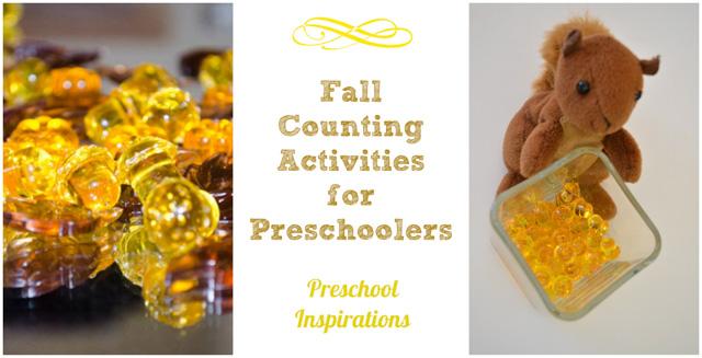Fall Math Activities by Preschool Inspirations
