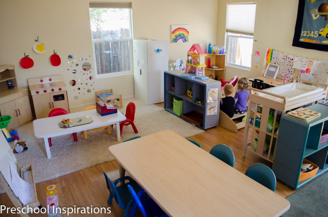 Home Classroom Design ~ How i created a calming and inviting preschool classroom