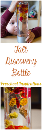 Fall Discovery Bottle for all ages