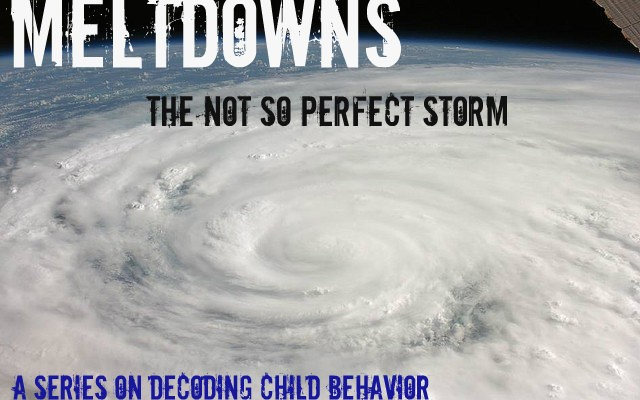 Meltdowns -- The Not So Perfect Storm