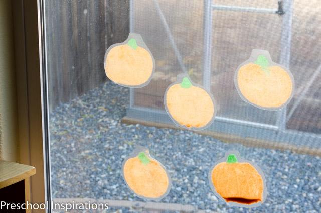 Pumpkin Suncatchers-5