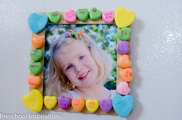 Conversation Heart Picture Frames by Preschool Inspirations-6
