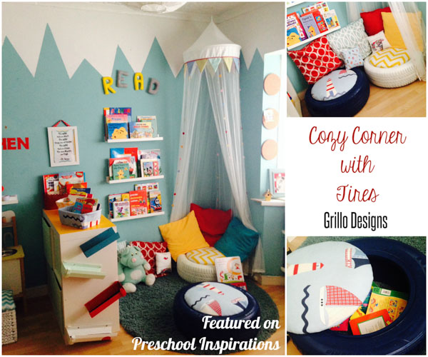 Cozy Corner With Tire Seating Preschool Inspirations