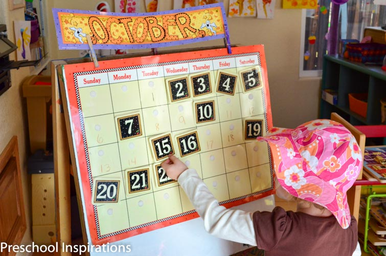 Making Calendar Time Meaningful - Preschool Inspirations