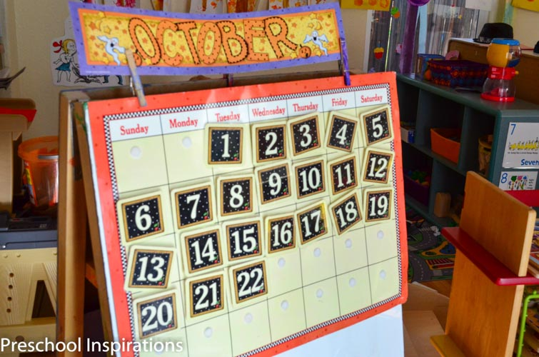 Homemade Calendar For Preschool : Making calendar time meaningful preschool inspirations