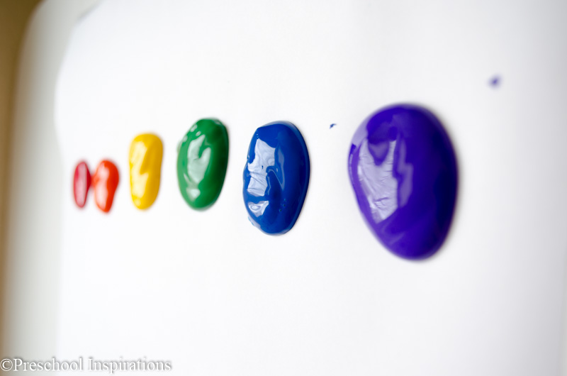 Rainbow Rolling Pin Art by Preschool Inspirations-6