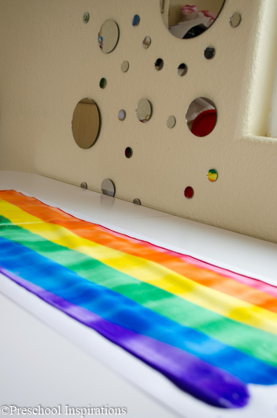 Rainbow Rolling Pin Art by Preschool Inspirations-8