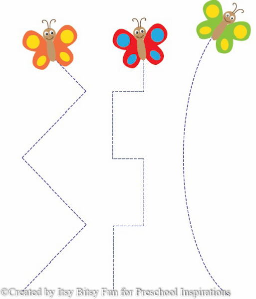 Free Worksheets » Butterfly Activities For Preschool