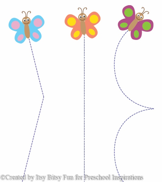 FREE Butterfly Printable from Preschool Inspirations