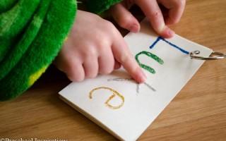 Tactile Name Writing Activity-7