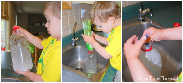 Creating the Bubble Bottle