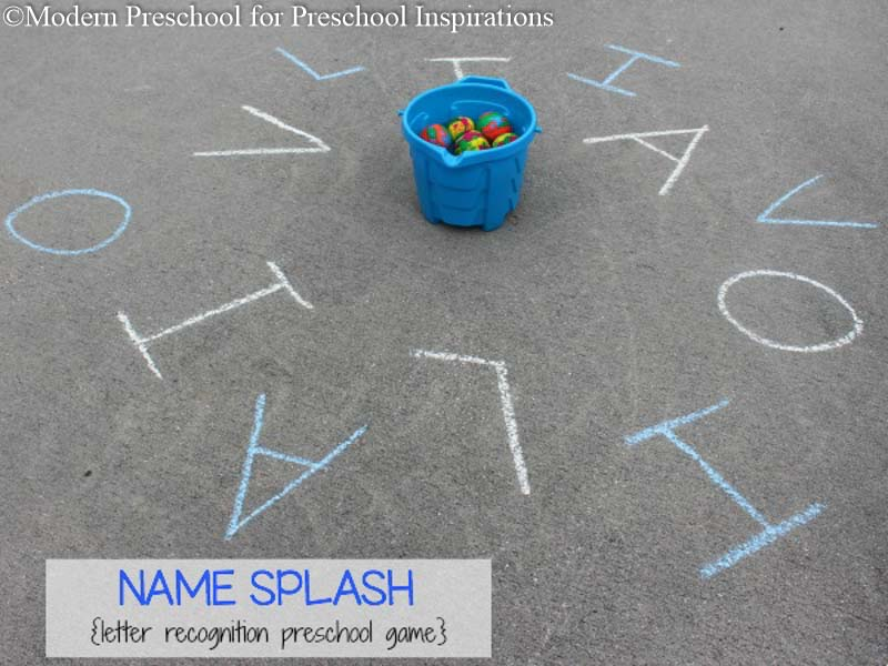 Name Splash Letter Recognition