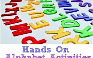 6 Hands On Alphabet Activities by Preschool Inspirations