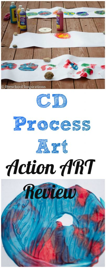 CD Process Art - Preschool Inspirations (1)