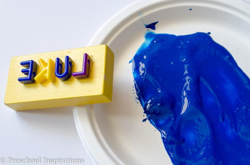 DIY Name Stamp - Preschool Inspirations-2