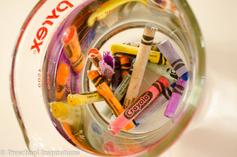 Crayon Alphabet - Preschool Inspirations
