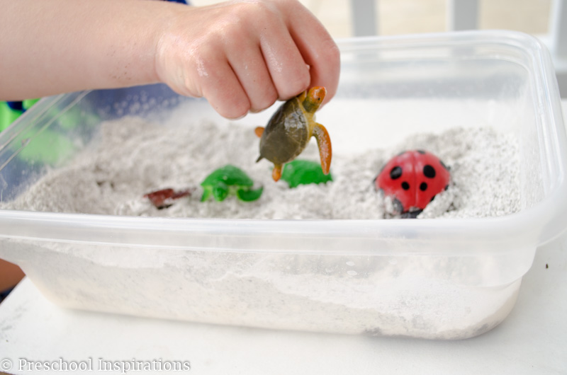 Feels Like Beach Sand Sensory Play - Preschool Inspirations-3