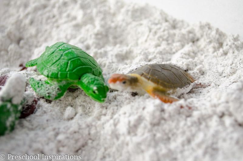 Feels Like Beach Sand Sensory Play - Preschool Inspirations-4