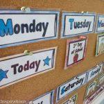 First Home or School Calendar - Preschool Inspirations-4
