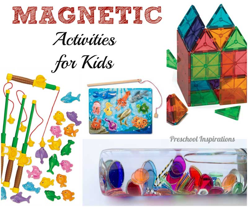 Magnetic Play Learning Activities - Preschool Inspirations