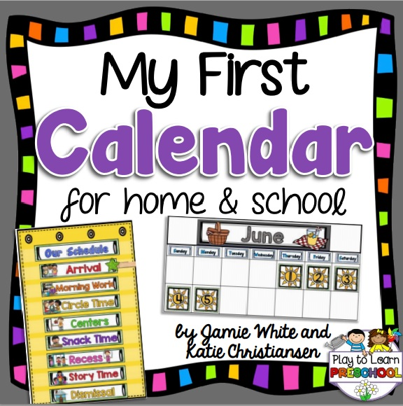 Calendar Design For Classroom : The perfect first calendar for home or classroom