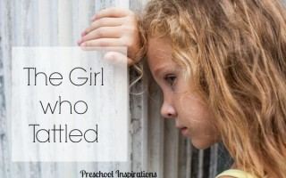 The Little Girl Who Tattled by Preschool Inspirations