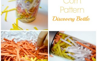 Candy Corn Discovery Bottle - Preschool Inspirations