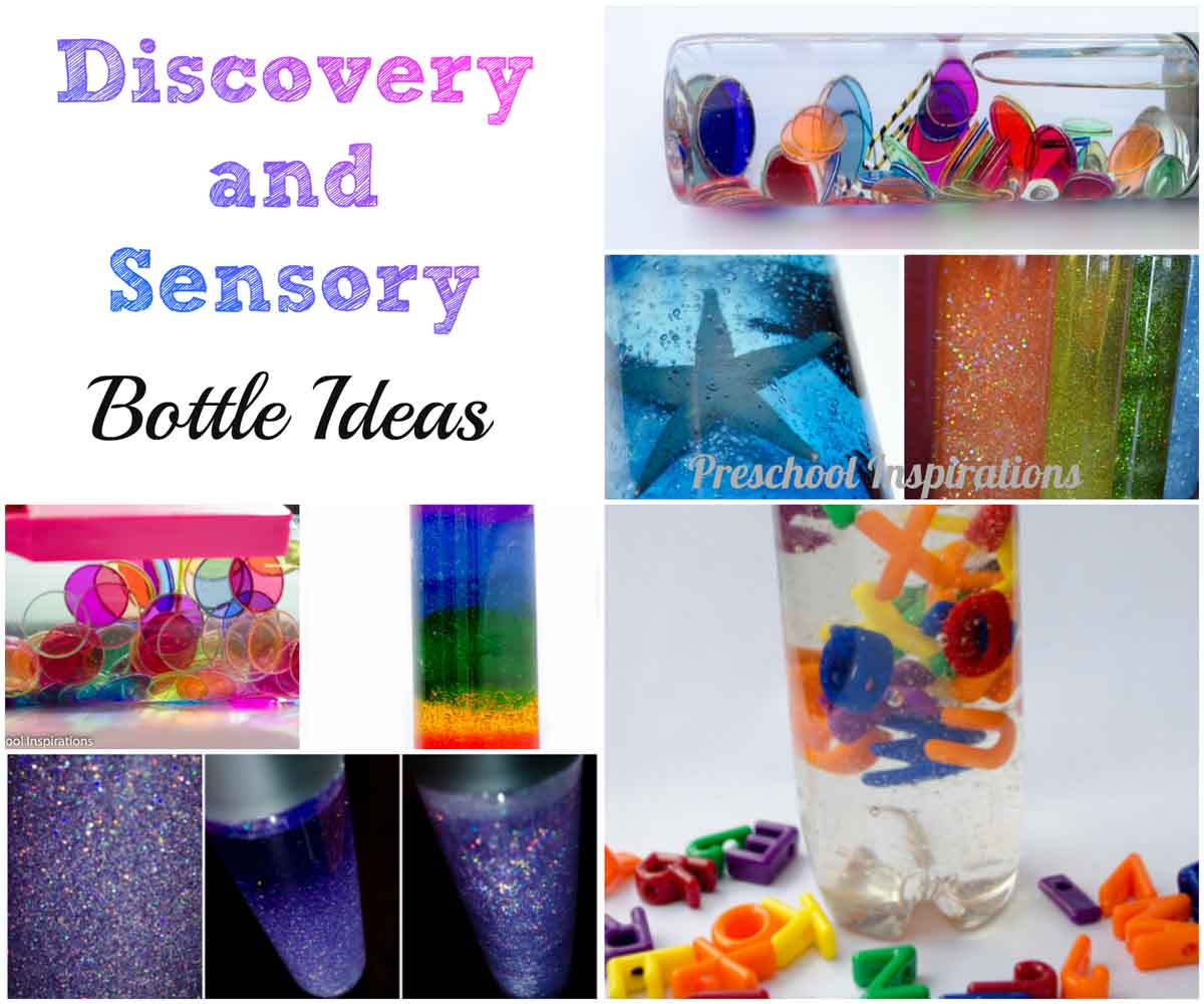Discovery And Sensory Bottle Ideas Preschool Inspirations