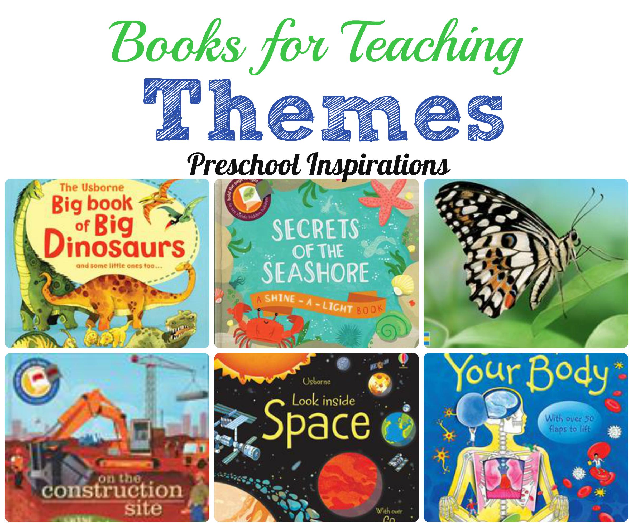 books for teaching themes preschool inspirations