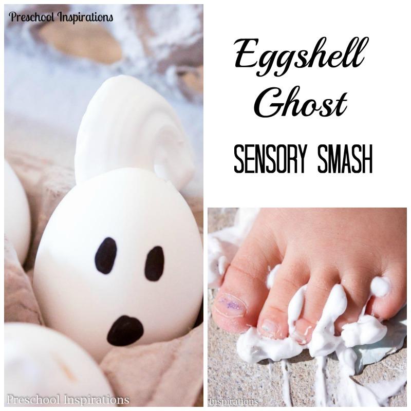 Eggshell Ghost Sensory Smash